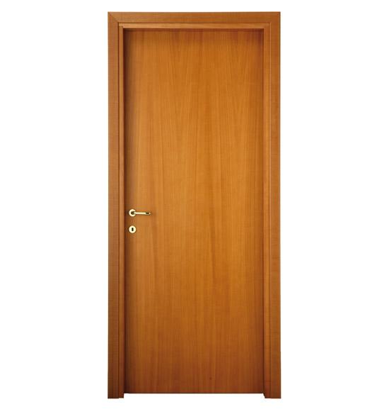 Noce tanganica porta cieca liscia ferplac - Porte noce tanganica ...